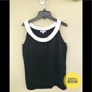 JOSEPH A.| Black Sleeveless Blouse